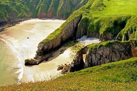 Pembrokeshire - Tenby/Manorbier King bed + adj WC - Manorbier - House