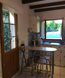 Studio for 2/3 persons with private access - Casa