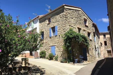 Maison de charme à Cassagnes - Casa