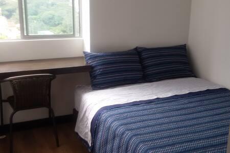 Room with double bed /Habitación con Cama Doble - Apartment