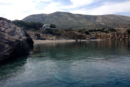 AlphaMu Beach House - Naxos - House