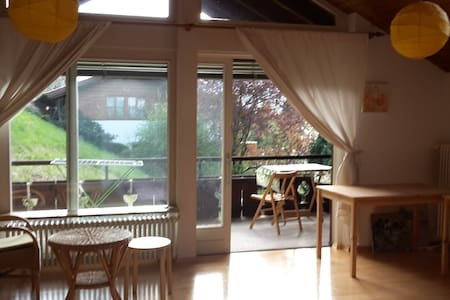 2 Zimmer mit See- Bergblick in Kochel am See, 4Pax - House