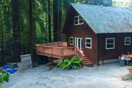Cozy house in the redwoods - Pescadero