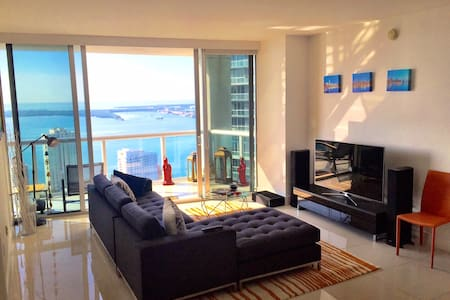 Bay views and private balcony in luxury apartment! - Miami - Apartment