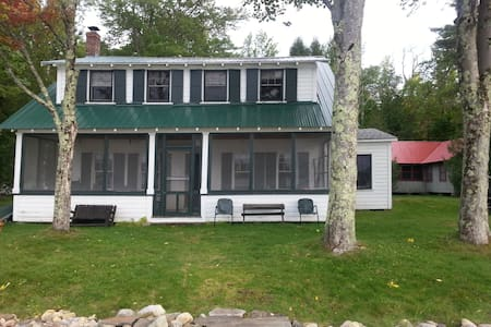 Vintage Lake Cottage near Middlebury & Brandon - Casa