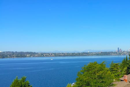 Stunning Lake View Suite between Seattle, Bellevue - 默瑟岛(Mercer Island) - 公寓