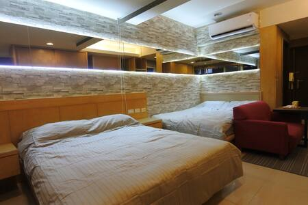 Ximen MRT Station 4P Luxury Room - Appartement