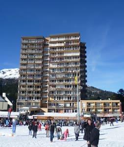 studio cœur station, pied de pistes de skis - Appartamento