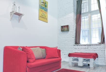 Vintage downtown room with private bathroom 1. - Budapeste