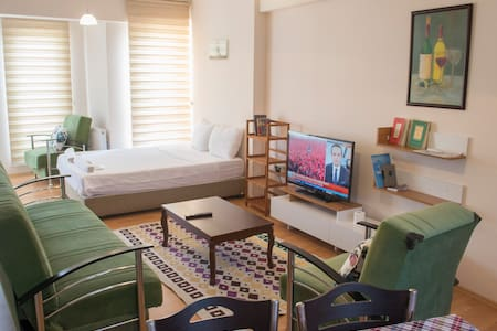 Tavukcu Ahmet Bright Clean Studio Apartment - Denizli