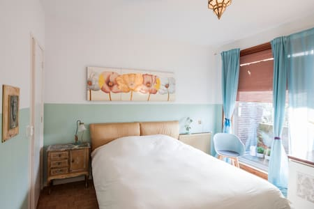 B&B Oranje Nassau room with a Balcony - Oegstgeest