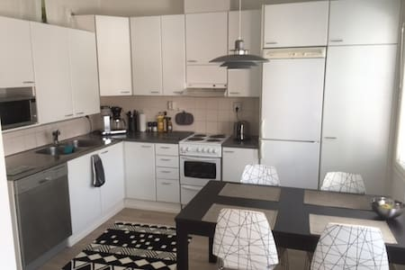 Cozy 2 bedroom apartment, 74 sqm - Tuusula - Radhus
