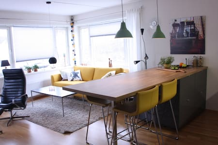 Central apartment by the sea in Trondheim - Trondheim