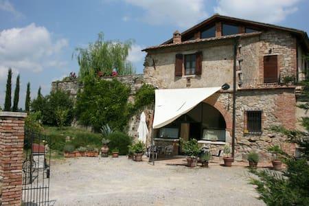 Il Fornacino, sleeps 8 guests in Armaiolo - Rapolano Terme
