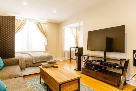Modern Manhattan Riverside Getaway - New York - Condominium