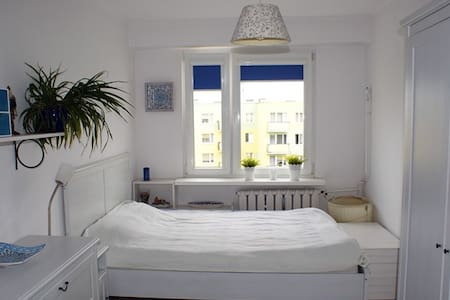 Przytulny i jasny pokój - nice room for two - Leilighet