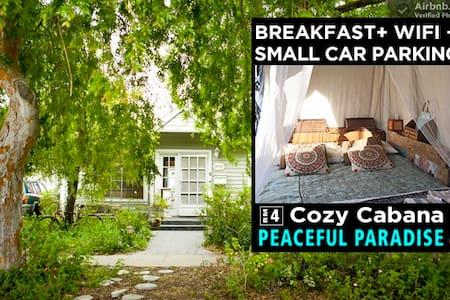 COZY CABANA   RM4 @ PEACEFUL PARADISE by Sea - Los Ángeles