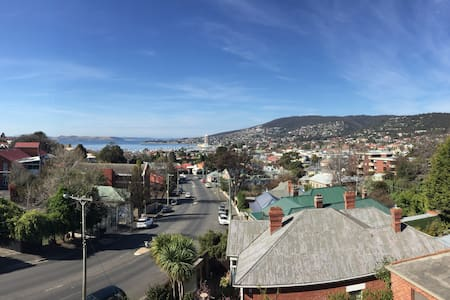 We have more room than we need in our spacious loft apartment which is located in Sandy Bay. Double bedroom (lockable door), wardrobe, sea views, large outdoor terrace & shared bathroom/shower. The decor is a little outdated -think homely not swanky.