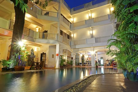 Casa Angkor - Twin Bed & Breakfast, Free Pick Up - Krong Siem Reap - Szoba reggelivel