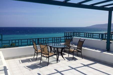 AgiaFotiaBeach Maisonette Apartment - Chios - Lägenhet