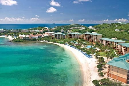 NEW YEAR-ST. THOMAS  Ritz Carlton Luxury 2BR/2.5BA - Cruz Bay