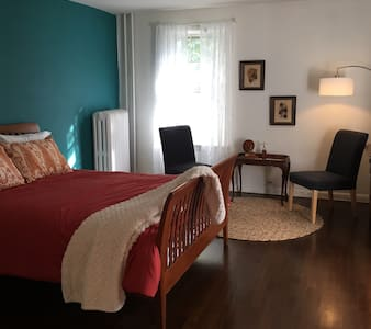Spacious Studio Apartment with Private Porch. - Ossining - Apartment