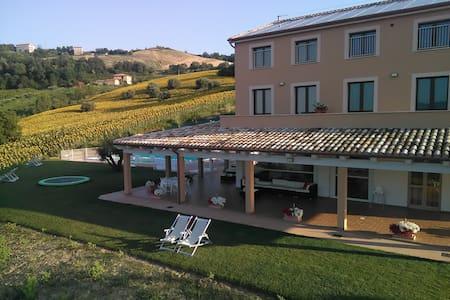 Beautiful located Agriturismo - Carassai - Bed & Breakfast