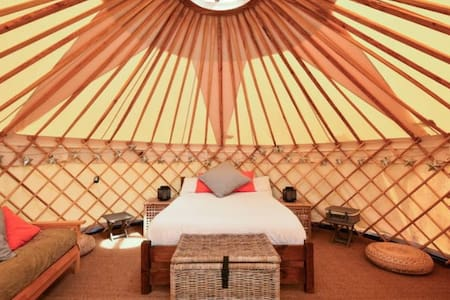 Luxury Yurt at Chafford Park - Jurta