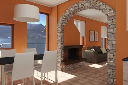 Apartement in villa with lake view - Carate Urio
