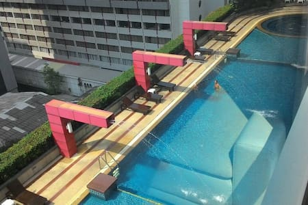 This apartment is centrally located in Bangkok. You won't miss a thing exploring the heart of Thailand.