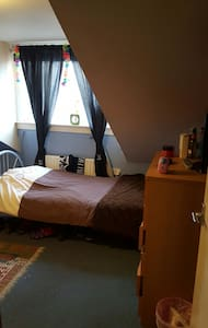 Homely twin room - Cambridge
