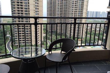 惠东 十里银滩 2室1厅 海景 海滨 家庭度假首选 - Huizhou - Wohnung