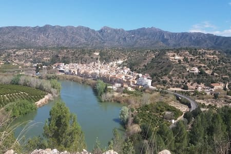Ferienhaus an Ebro/Tivenys Angel,Wandern,Radfahren - Hus