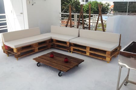 PANORAMIC ROOFTOP TERRACE - Apartamento