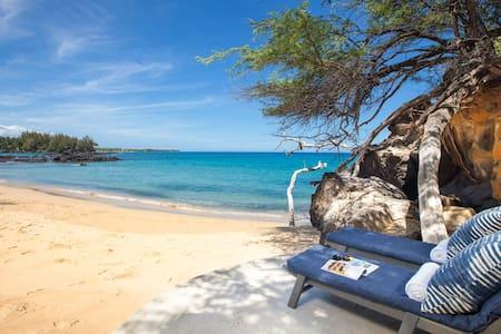 Historic Family Home on Beautiful White Sand Beach - Waimea - Casa
