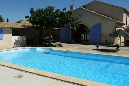 Mas provençal, piscine, Luberon - Villa
