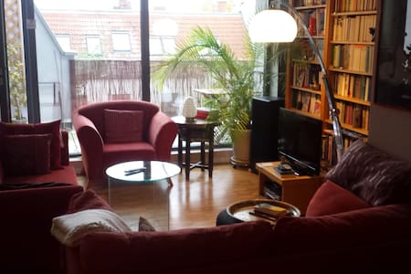 Beautiful apartment with large rooftop terrace - Berlin - Wohnung