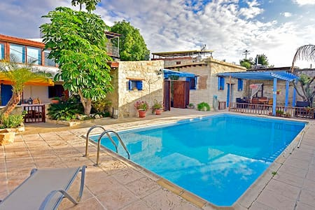 Cottage Houses 2 Bedroom Swimming Pool Near Sea - Flat