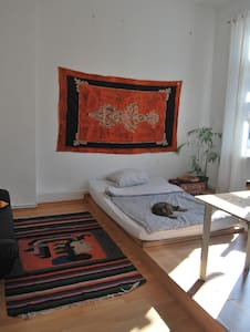 Large sunny room in cosy old bremen house, central - Bremen - House