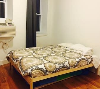 It's a fresh, exciting apartment with your own private room. It has sufficient space with enough storage area to hang your clothes, store yours luggages & even an area for you just to sit and relax. It has a privacy window and curtain.  Great chance to meet other like minded travels like yourself. We're also located just 15 min away from Union Sq, L train. :)