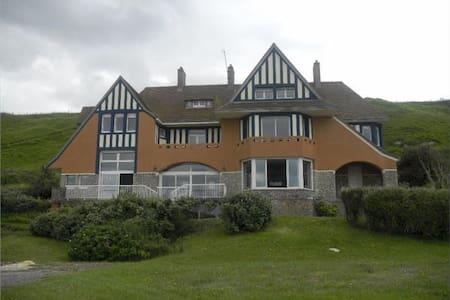 The Grand Villa Hardelay. Omaha beach ,Normandy - Vierville-sur-Mer