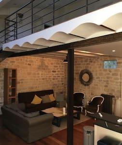 Charmant loft 80 m2 en plein centre- ville - Loft