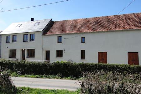 La Rougerie Farm, Twin Room - Saint-Fromond - Wikt i opierunek