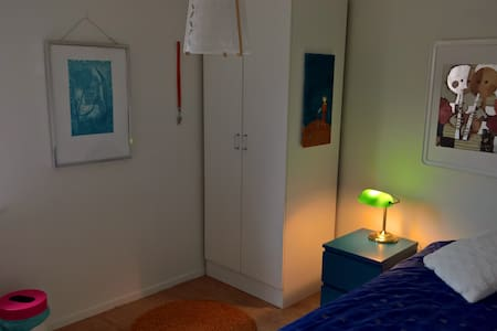 Single room inside the Malmö canals - Bed & Breakfast