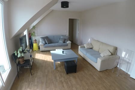 Apartment 100 m2, F4 balcony near Paris. - Le Plessis-Robinson - Apartment