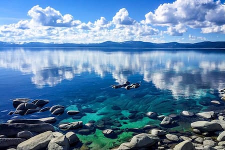 Sunny Tahoe City Westshore Cabin - Tahoe City