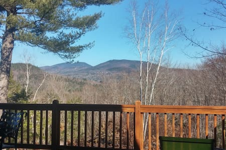 Mountain Views from Log Cabin Dream - Hus