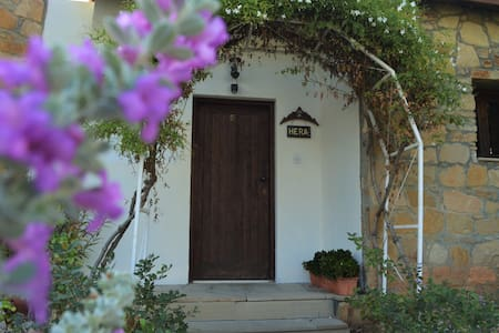 Traditional house with mountain and pool view - Limassol