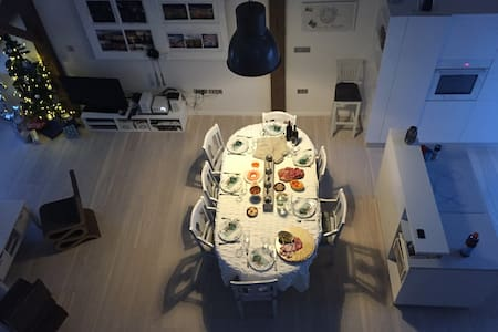 Beautiful designer loft! - Apartemen