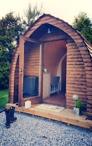 Wooden Pod at Coastal Valley Camp and Crafts - Cornwall - Cabaña